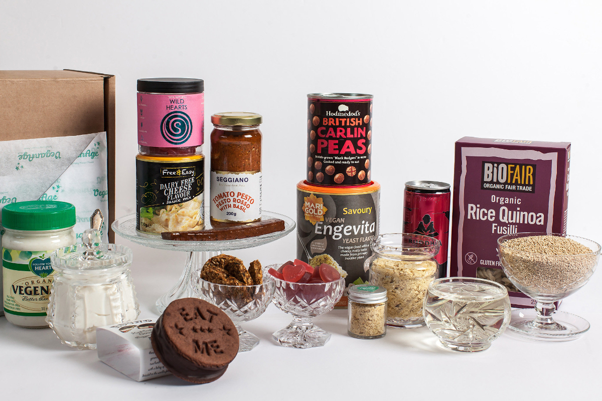 VeganAge luxury vegan hampers