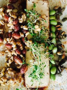 Recipe: sprouts bean wrap
