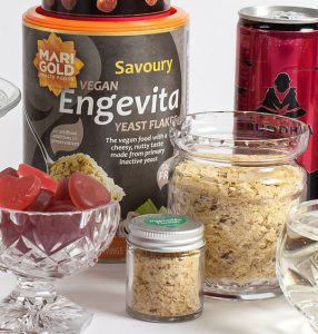 Engevita nutritional yeast with portable pot