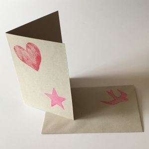 Vegan gift option hand-made card