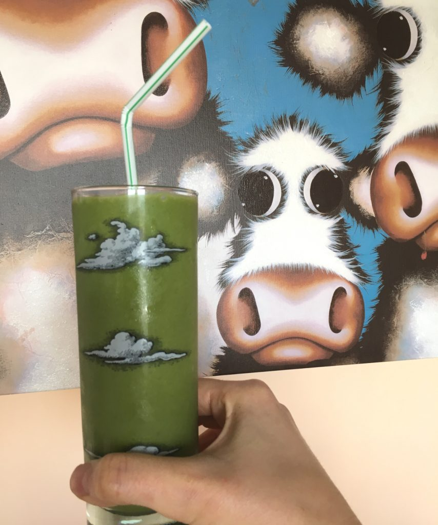 Matcha Green Tea Milkshake